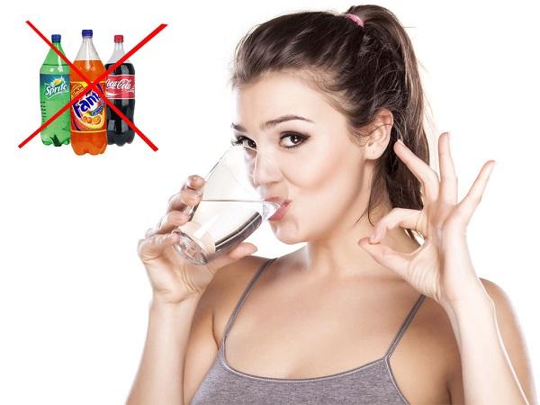 Пейте воду для ускорения метаболизма