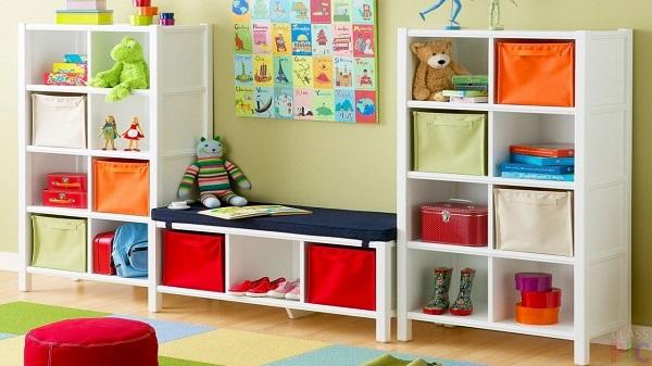 Обеспечьте место для творчества ребенк